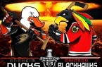 ducks vs hawks
